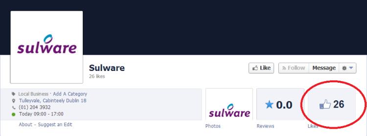 sulware facebook
